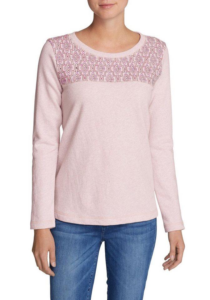 Damen Eddie Bauer  Sweatshirt Shoreline Sweatshirt  | 04057682154534