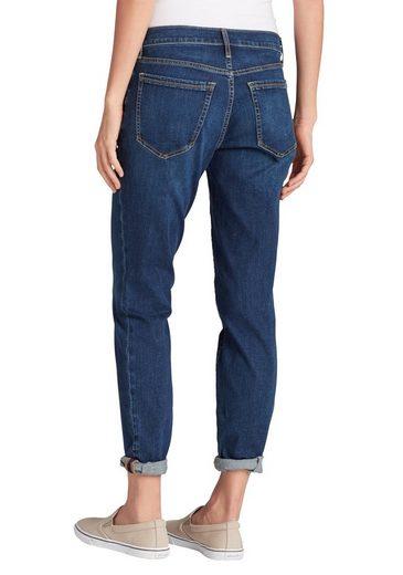 Eddie Bauer Boyfriend Jeans - Slim Leg - Washed Navy
