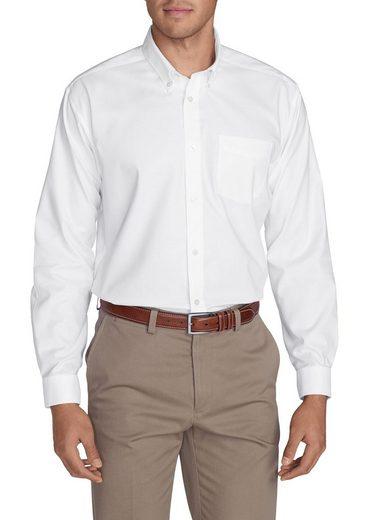 Eddie Bauer Knitterarmes Oxfordhemd - Langarm - Uni