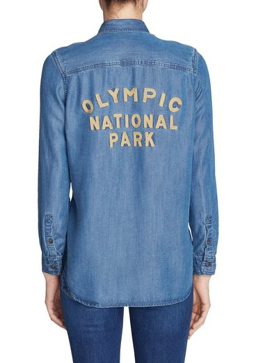 Eddie Bauer Tranquil Olympic National Park Bluse
