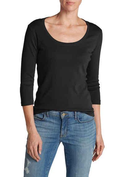 0118e8503b4e98 Eddie Bauer 3 4-Arm-Shirt Favorite Shirt - 3 4-