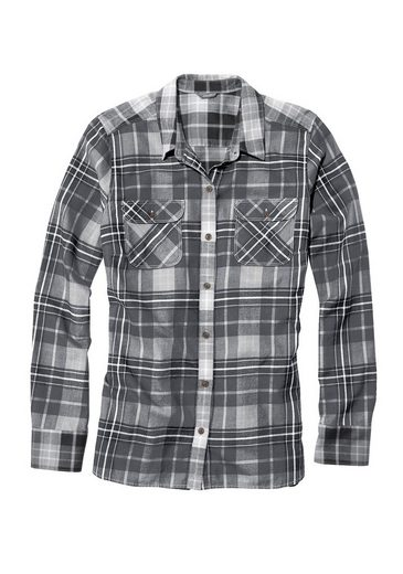 Eddie Bauer Flanell-Patchbluse