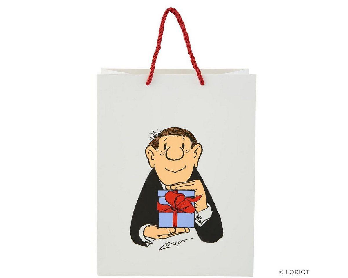 Vorschaubild von BUTLERS LORIOT »Geschenktüte Loriot Geschenk groß«