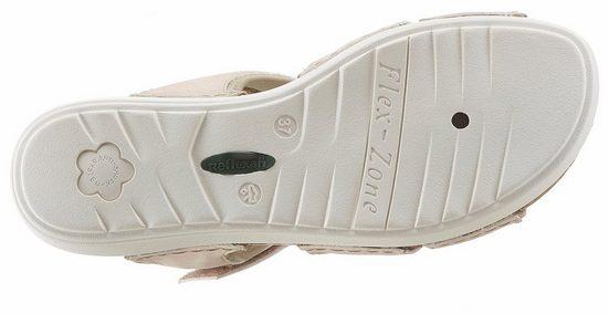 Reflexan Riemchensandale, in bequemer Schuhweite G (=weit)