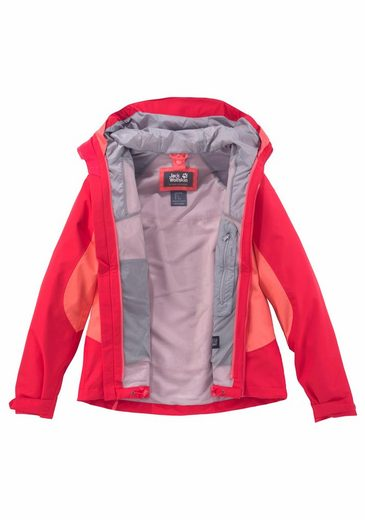 Jack Wolfskin Functional Jacket Northridge, From The 3in1 System Short-series