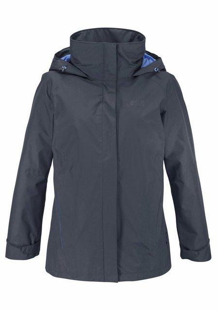 Damen Jack Wolfskin Funktionsjacke ESCALENTE umweltfreundlich produziert blau | 04055001759330