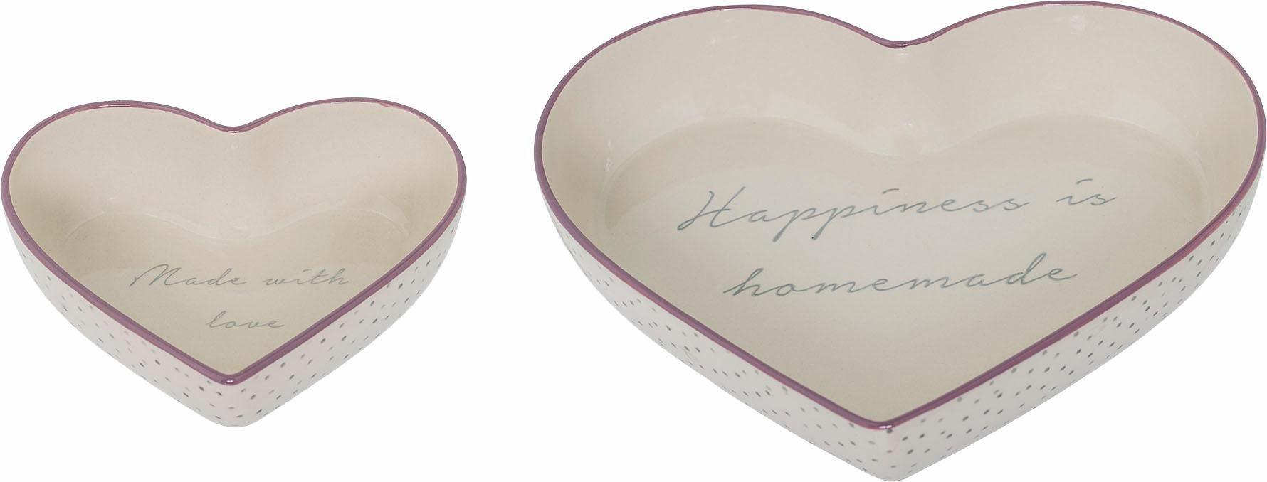 Bloomingville Kuchenform Herz (2-tlg. Set)