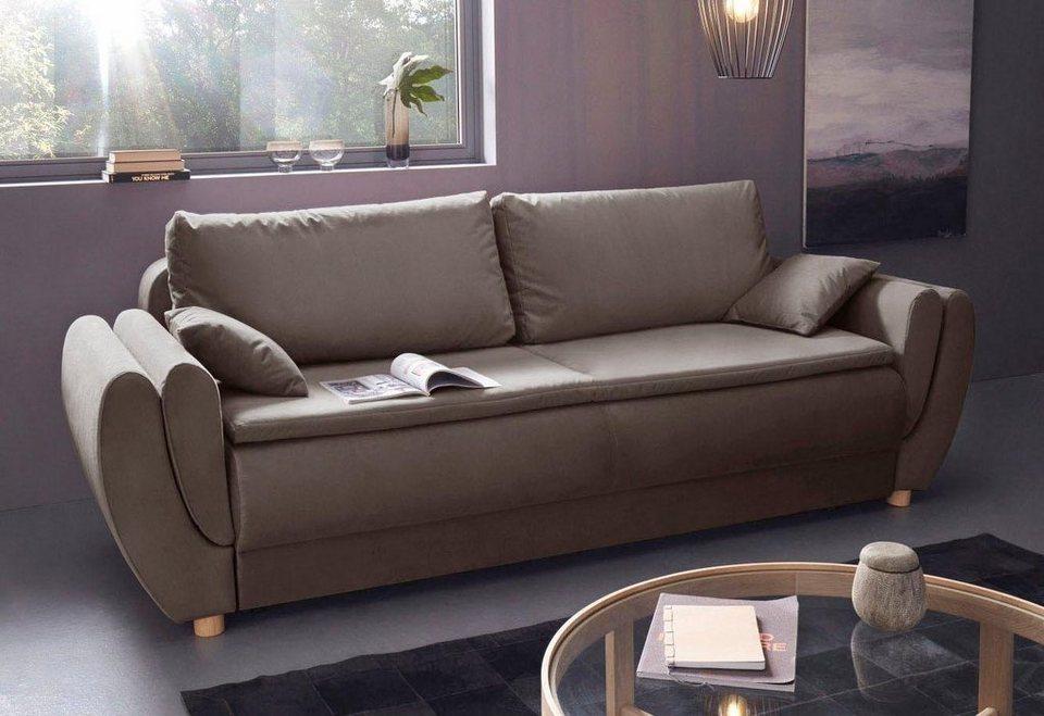 Sofa mit boxspring couch couch mit luxus badezimmer die for Boxspring schlafcouch mit bettkasten