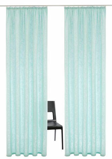 Vorhang »Solveyg«, andas, Kräuselband (2 Stück)