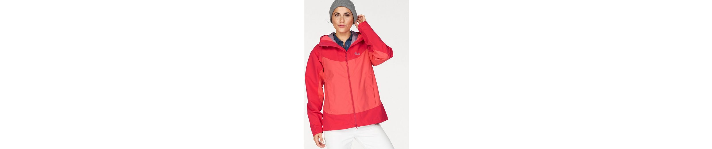 Jack Wolfskin Funktionsjacke NORTH RIDGE, aus der 3in1-System Short-Serie
