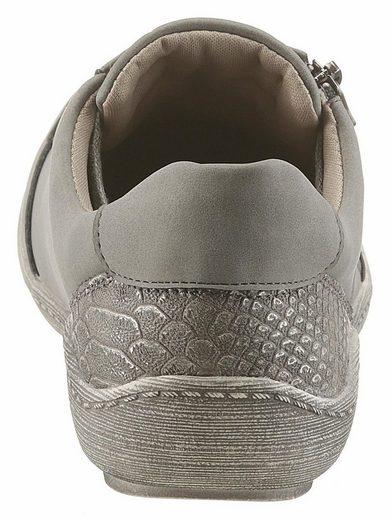 CITY WALK Sneaker, mit Reptilienprägung