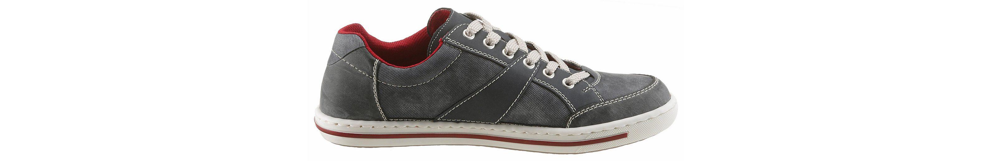 Rieker Sneaker, mit Ziernähten und Nieten