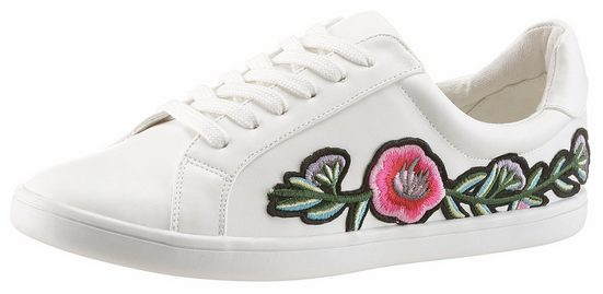 CITY WALK Sneaker, mit Blumen-Stickerei