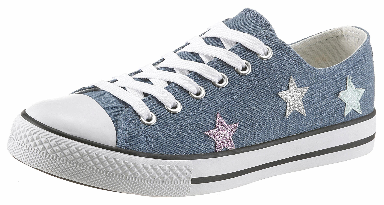 Arizona Sneaker, Mit Glitter-Sternchen kaufen  jeansblau