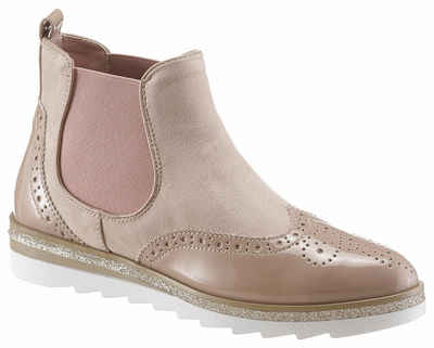 704669be62bb30 CITY WALK Chelseaboots mit angesagter Lyralochung