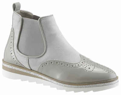 a5b3f5b8781408 CITY WALK Chelseaboots mit angesagter Lyralochung