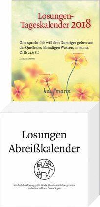 Kalender »Losungen-Tageskalender 2018«