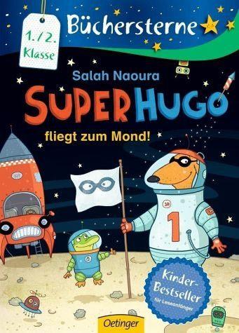 Gebundenes Buch »Superhugo fliegt zum Mond! / Superhugo Bd.5«