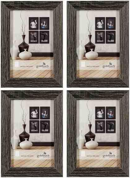 Goldbuch Foto Equipment »1x4 Home Gallery 10x15 MDF Rahmen Set dkl 920402«