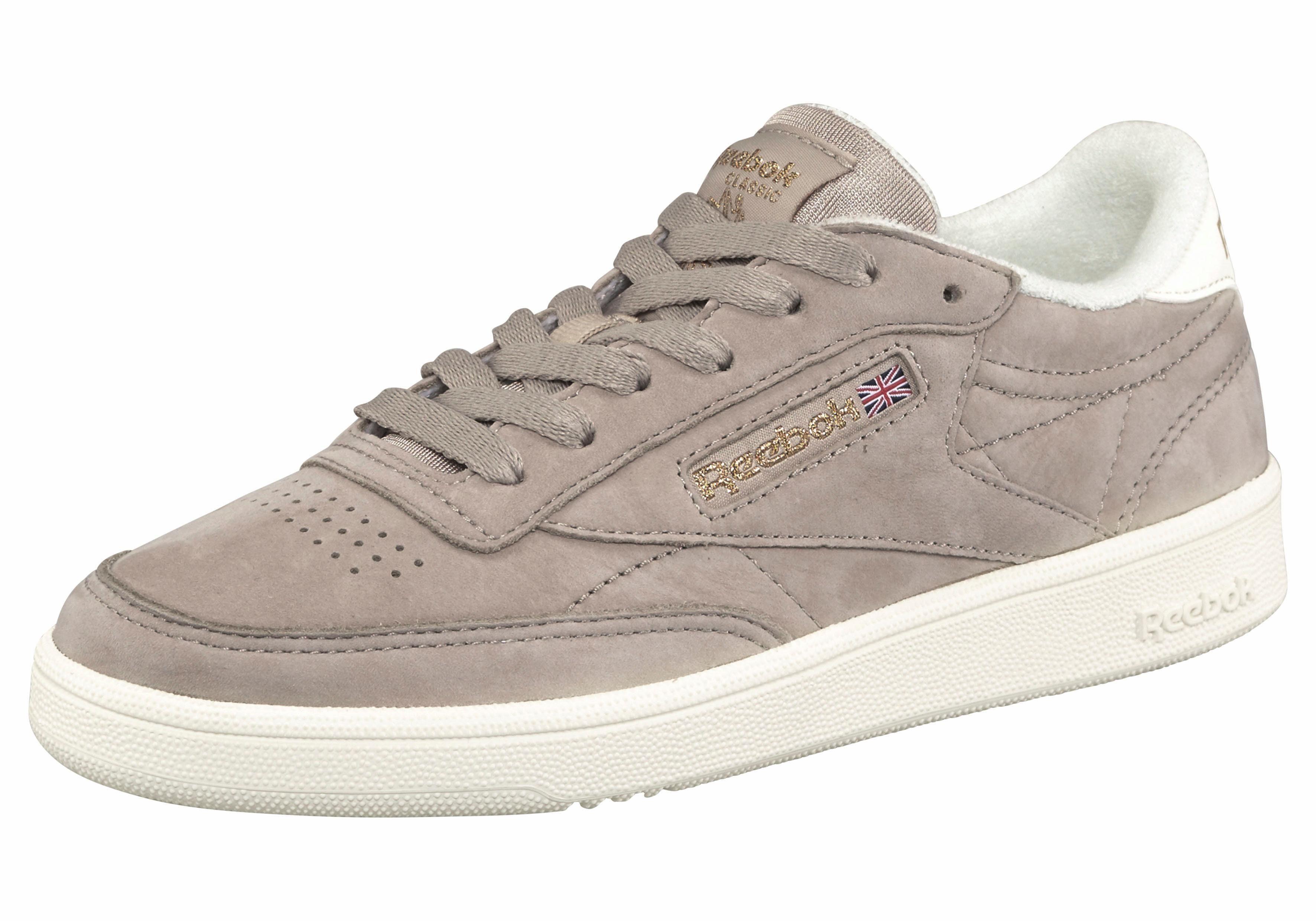 Reebok Club C 85 Trim Leather W Lo Sneaker Schuhe weiß dG1wxod