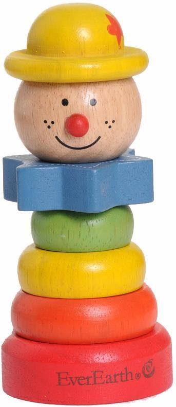 EverEarth® Holzspielzeug, »Clown mit gelbem Hut«