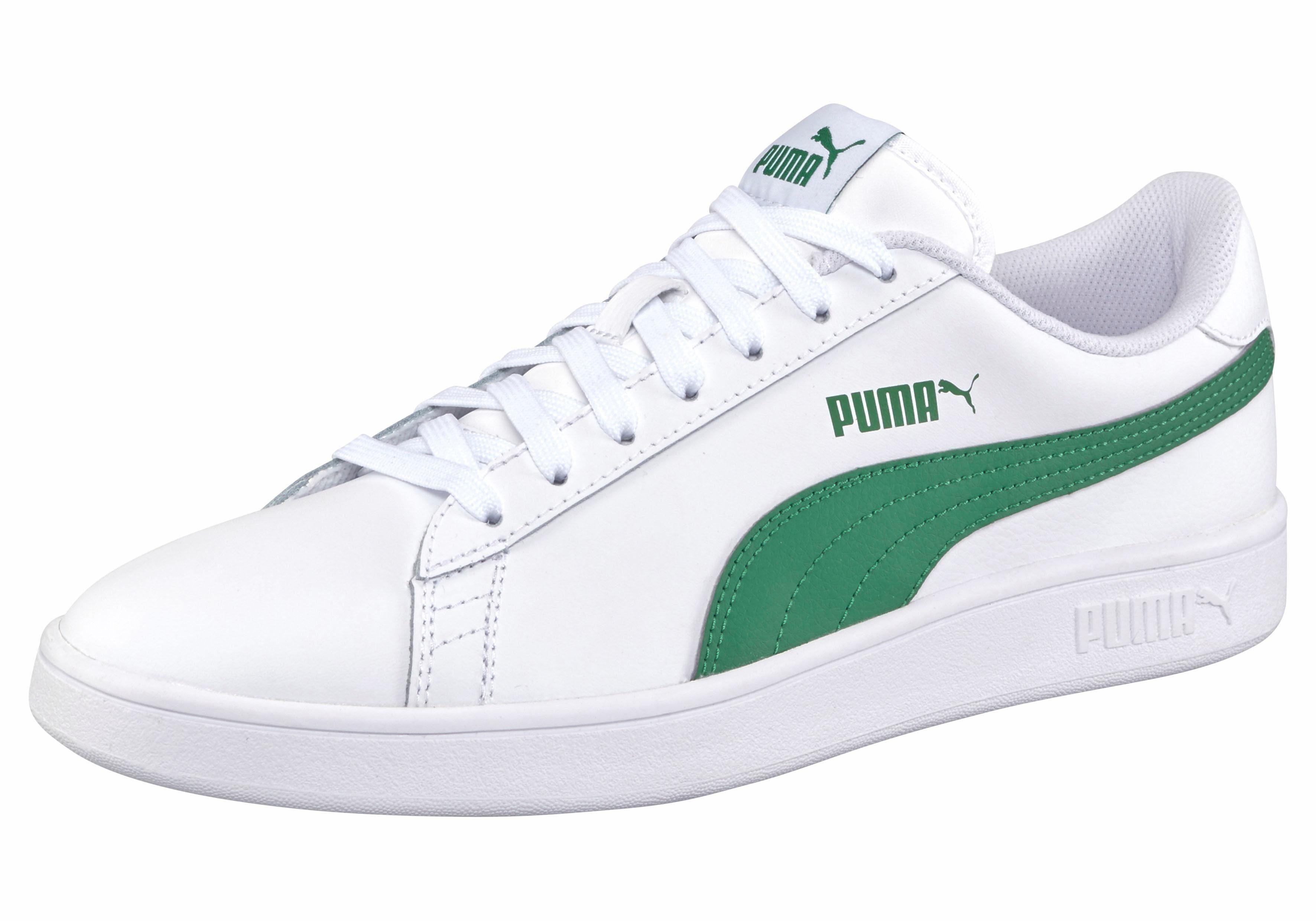 PUMA Smash v2 L U Sneaker online kaufen  weiß-grün