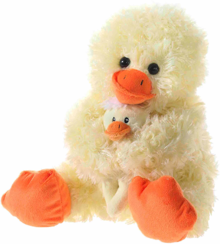 Heunec Plüschtier, »Ente mit Baby, sitzend 28 cm«