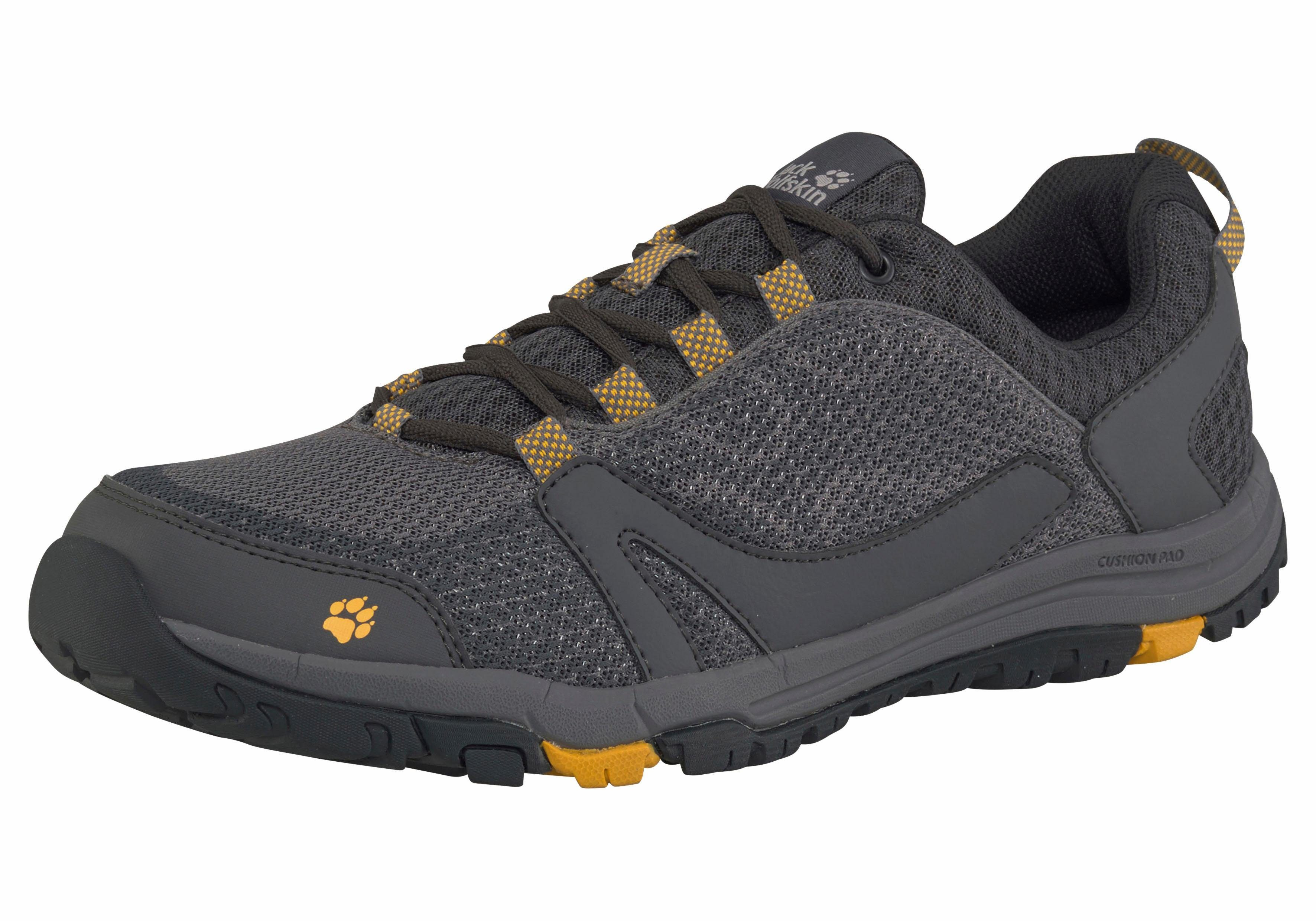 Jack Wolfskin Activate Low M Outdoorschuh kaufen  anthrazit-gelb