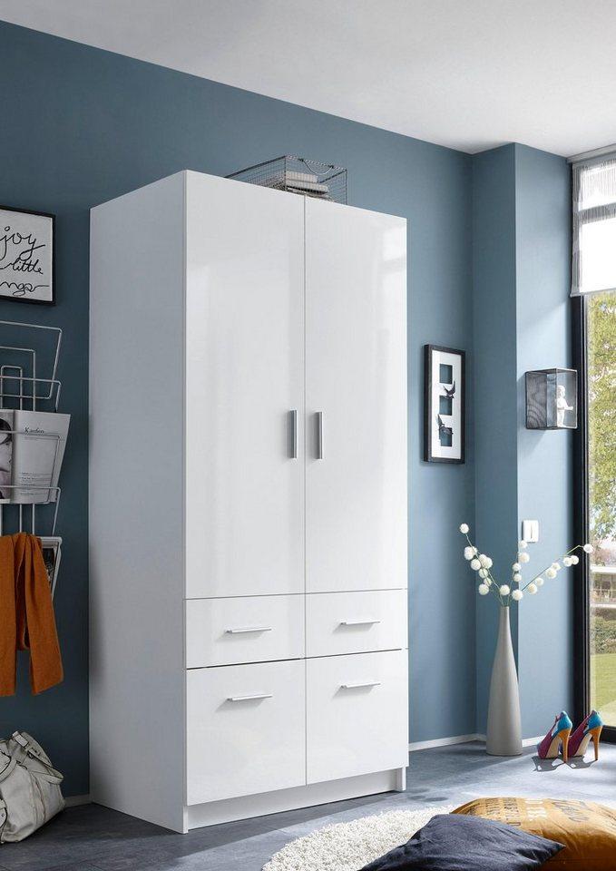 kleiderschrank mit schubk sten online kaufen otto. Black Bedroom Furniture Sets. Home Design Ideas