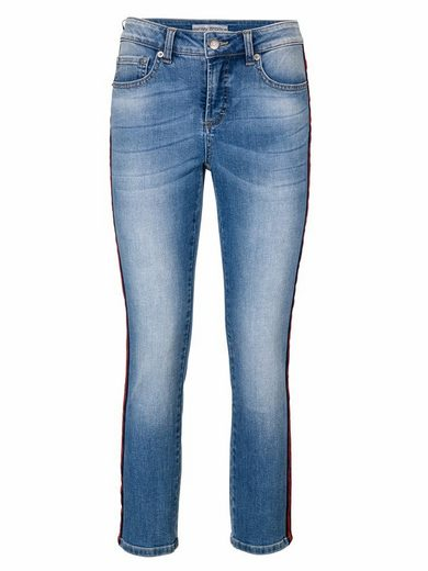 ASHLEY BROOKE by Heine Bodyform-Jeans mit Kontraststreifen