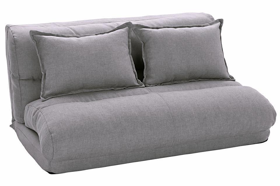 heine home Relaxliege | Wohnzimmer > Sessel > Relaxliegen | Leinen - Metall | heine home