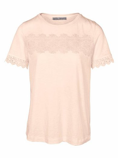 ASHLEY BROOKE by Heine Rundhalsshirt mit Spitze