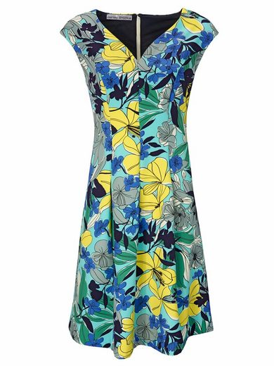 Ashley Brooke By Heine Print Dress With Flower-dessin