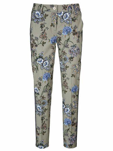 ASHLEY BROOKE by Heine Bodyform-Druckhose mit Blumen-Dessin