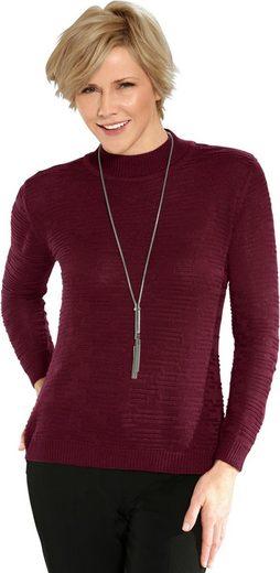 Classic Pullover mit Stehkragen
