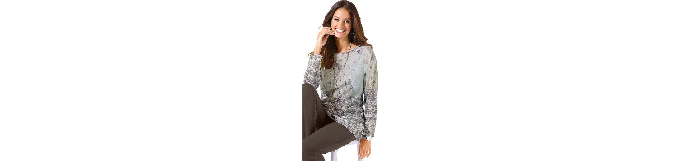 Das Beste Geschäft Zu Bekommen Classic Inspirationen Pullover mit Bordüren-Druck Viele Arten Billig Footlocker Finish Outlet Neueste Auslass Klassisch 5vHFZ1H