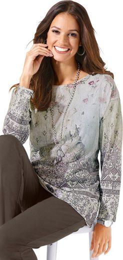 Classic Inspirationen Pullover mit Bordüren-Druck