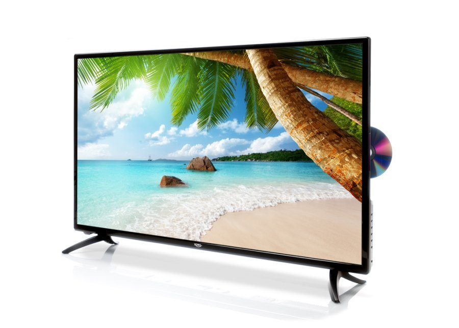 xoro led fernseher mit dvd 100 cm 39 5 zoll triple tuner. Black Bedroom Furniture Sets. Home Design Ideas