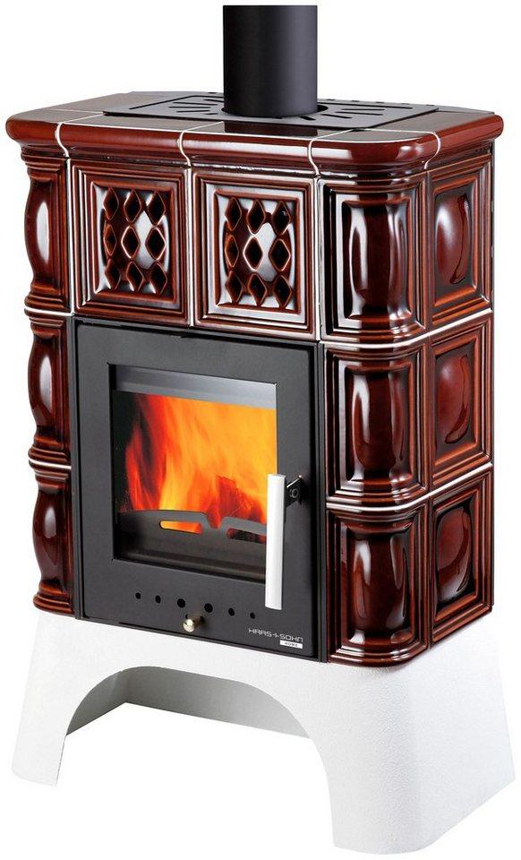 haas sohn kaminofen treviso ii stahl 8 kw wei er sockel online kaufen otto. Black Bedroom Furniture Sets. Home Design Ideas