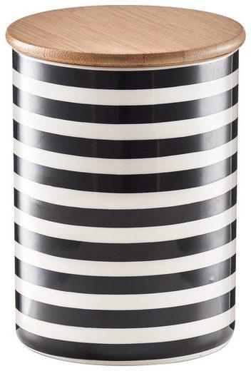 ZELLER Vorratsdose »Stripes«, 900 ml, 2er Set