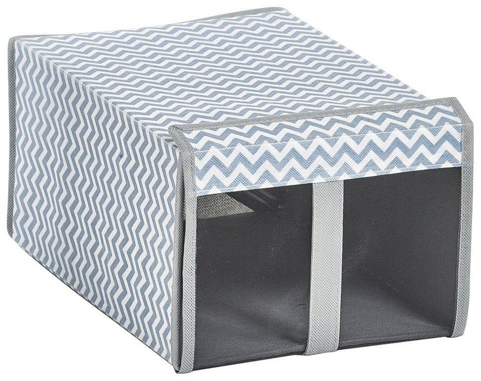 zeller aufbewahrungsbox schuh box 2er set otto. Black Bedroom Furniture Sets. Home Design Ideas