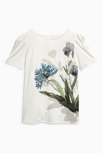 Next T-Shirt mit Puffärmeln