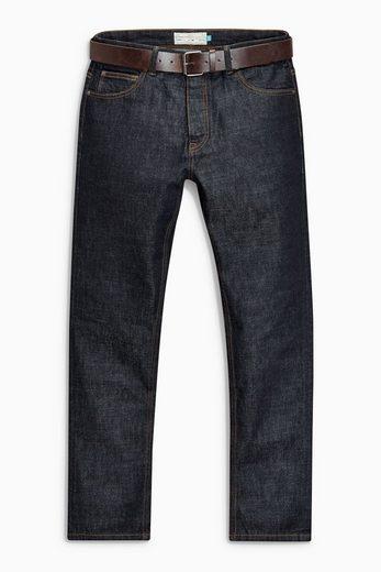 Next Jeans mit Gürtel 2 teilig