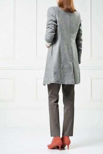 Next Mantel mit Stehkragen