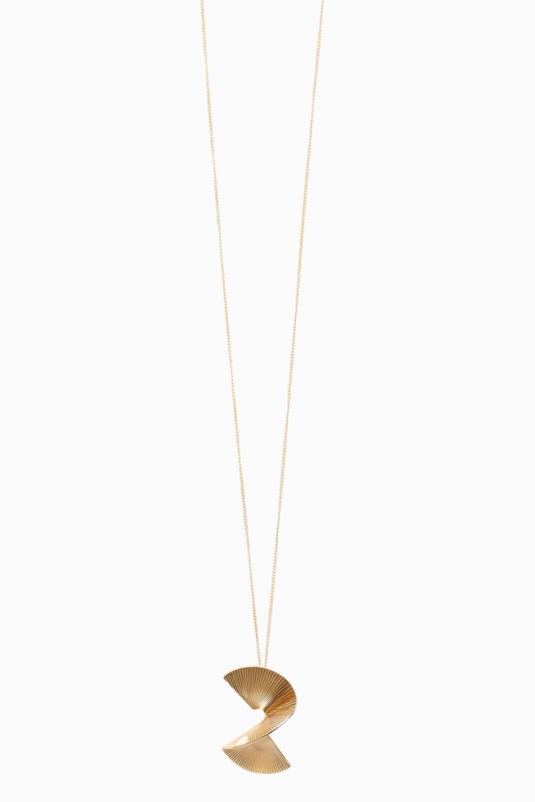 Next Lange Halskette mit Anhänger in Twist-Optik