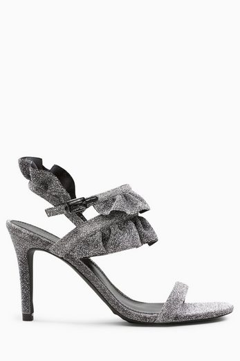 Next Sandalette With Frilly Details