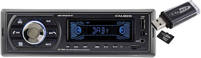 Caliber »Audio Technology RMD 050DAB-BT Autoradio DAB+ Tuner, Bluetooth®-Freisprecheinrichtung« Autoradio