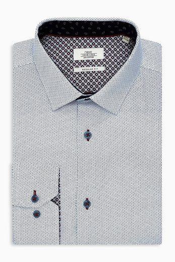 Next Bedrucktes Regular-Fit Hemd