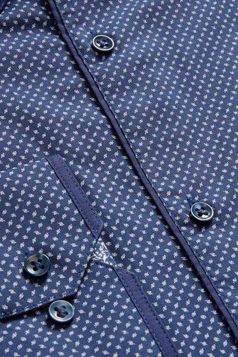 Next Gemustertes Hemd mit Doppelkragen