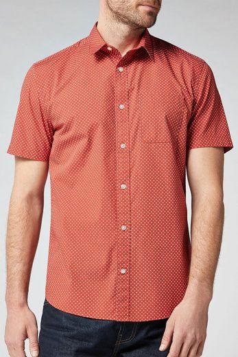 Next Gemustertes Hemd mit kurzen Ärmeln